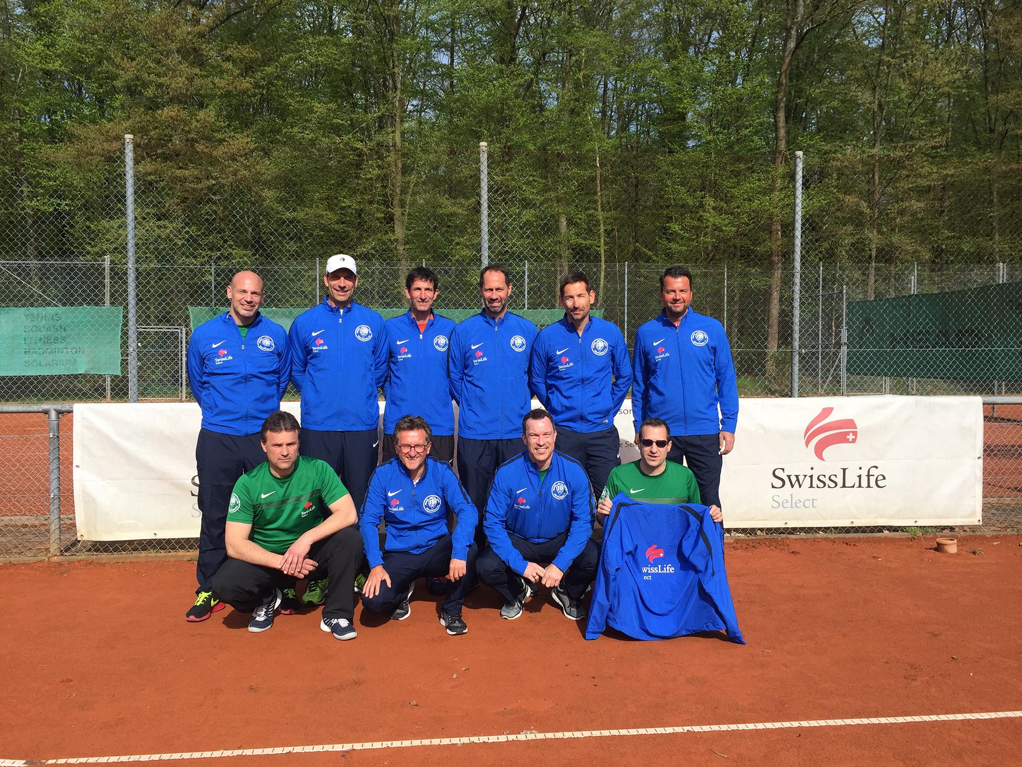 Regionalliga-Saison Start der TCB Herren 40