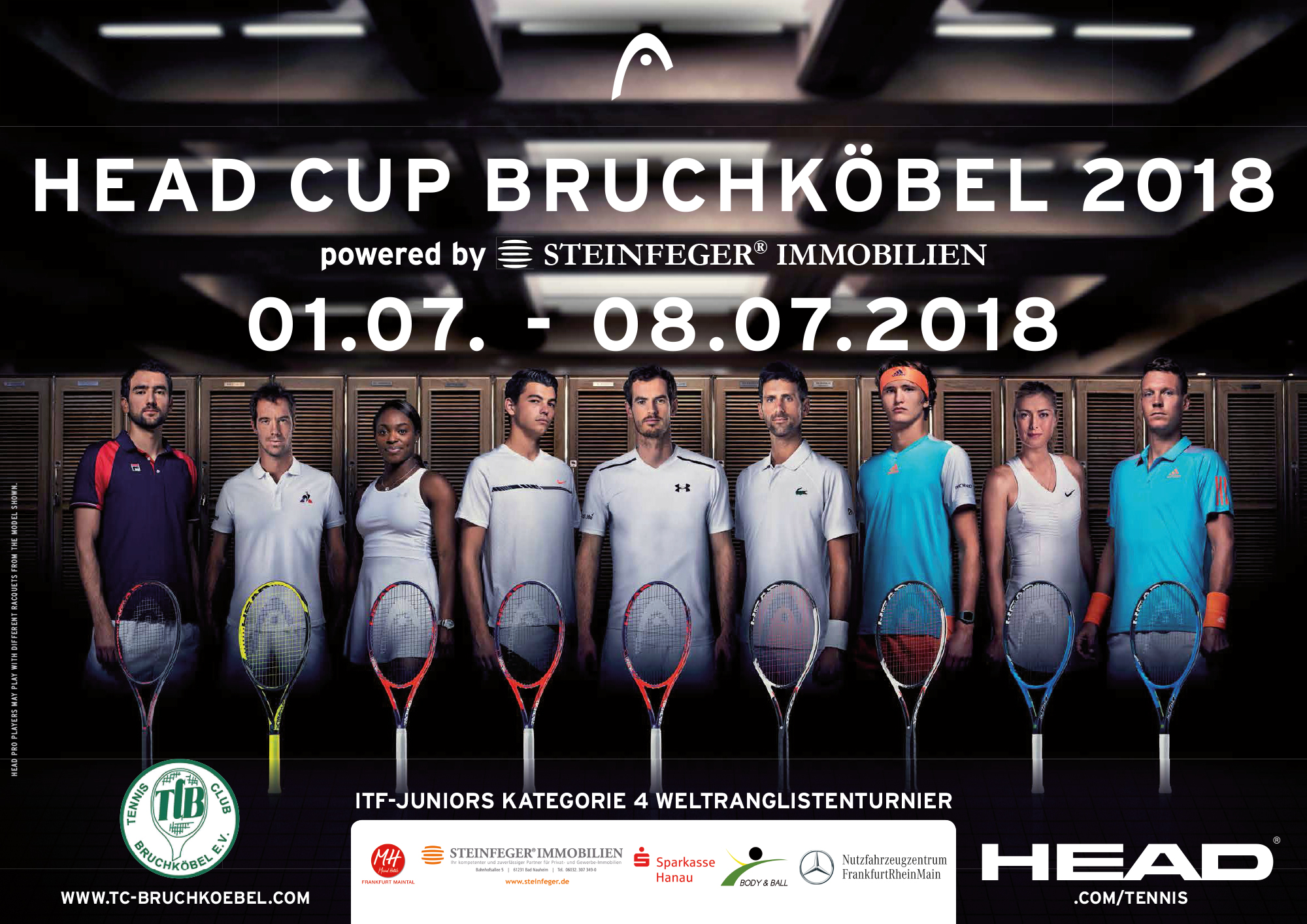 ITF Head-Cup 2018 – Day 8 – Order of Play Main Draws