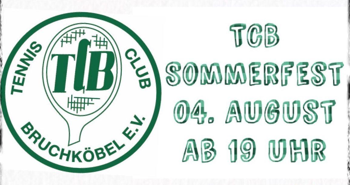 TCB Sommerfest am 04. August 2018