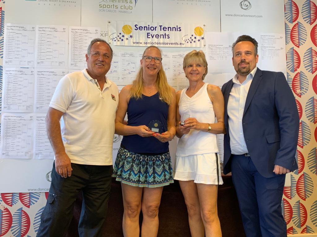 X Spring Senior Open Tennis Tournament, Marbella / ITF Senior Grade 2