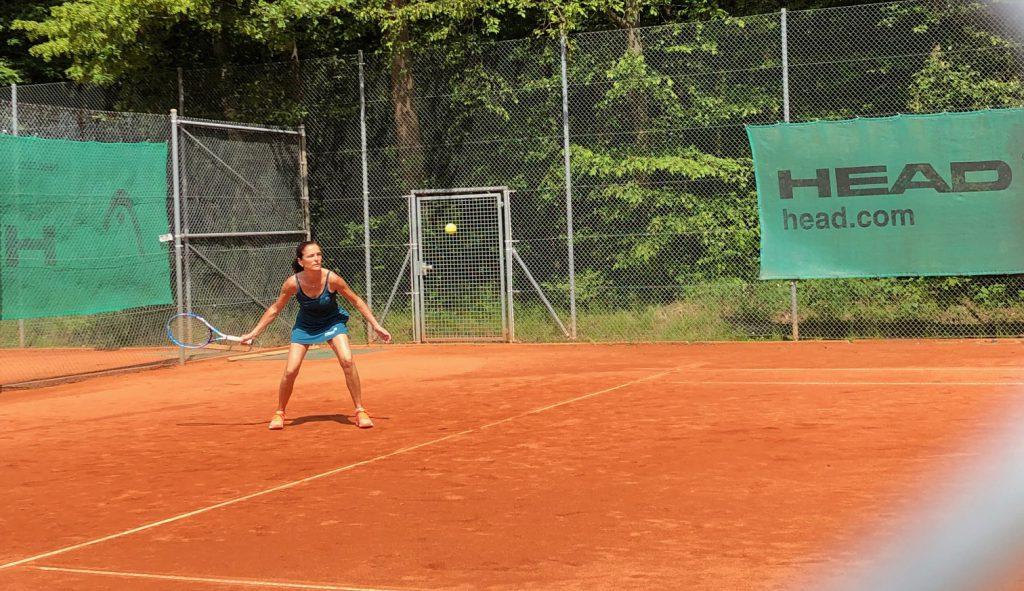 Erster Punkt Nach Einstand Tennis