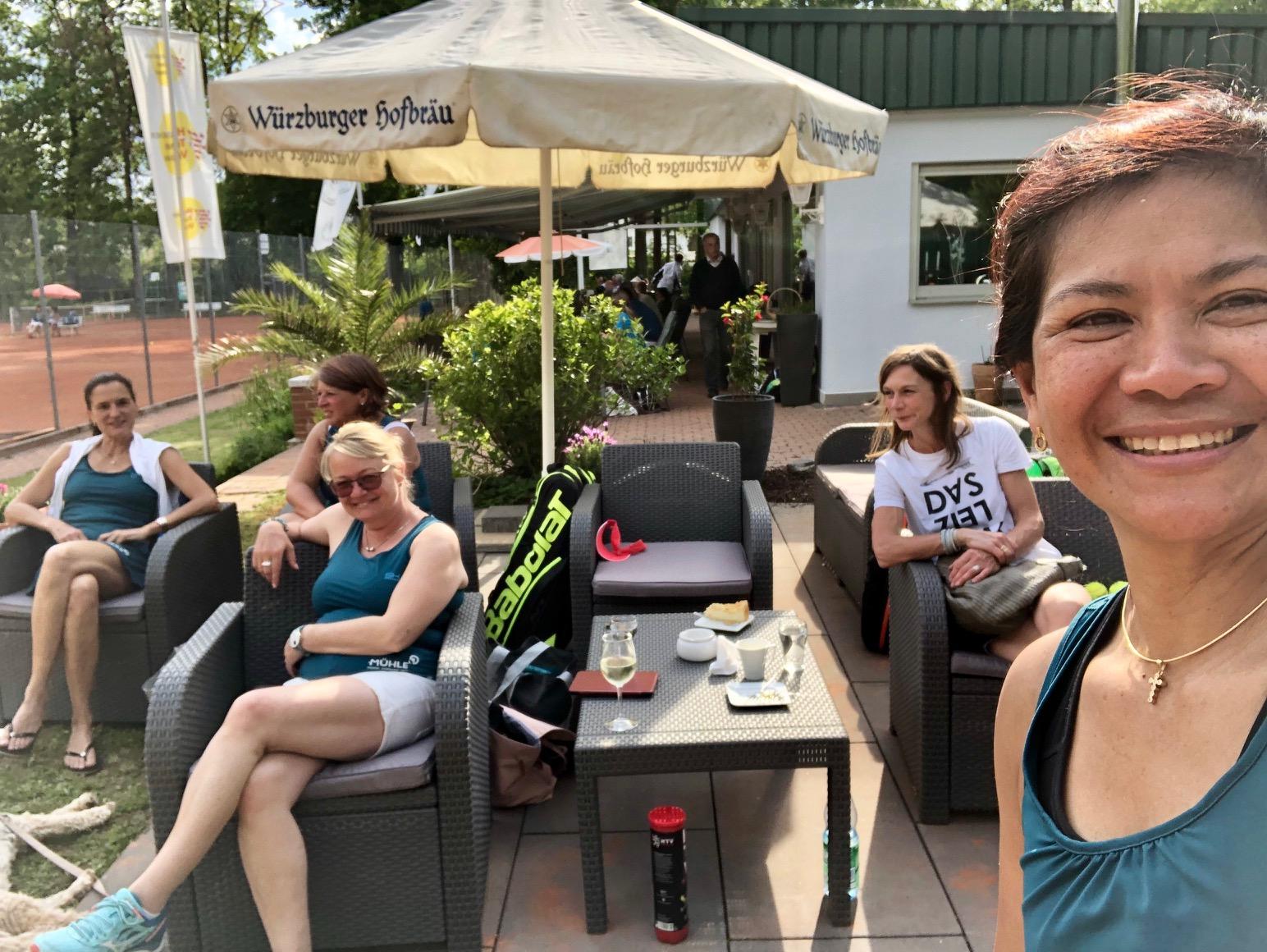 Damen 40 II gegen Grasellenbach erfolgreich