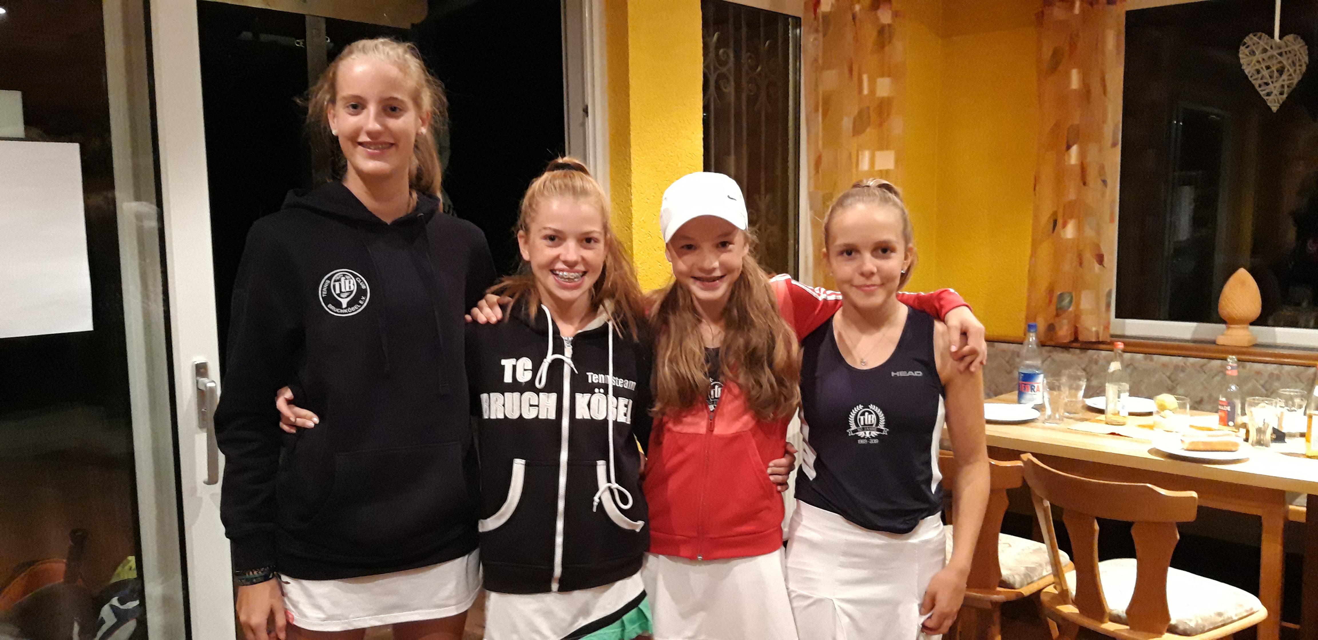 U14 Juniorinnen in Zellhausen erfolgreich