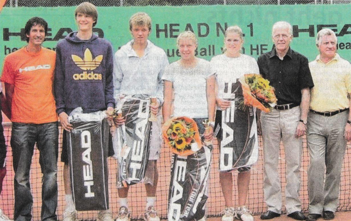 Einstimmung auf den 20. ITF Head Cup