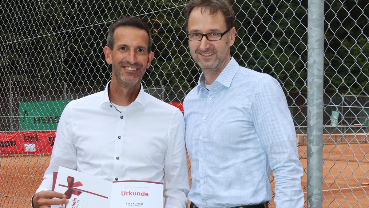 HTV Ehrennadel in Silber für Martin Fetzer und Sven Kurandt