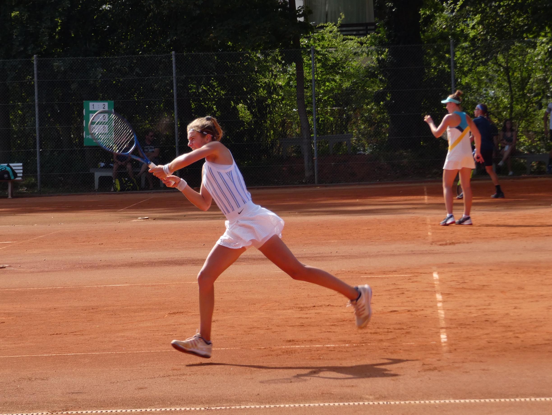 Das ITF Turnier geht in die entscheidende Phase